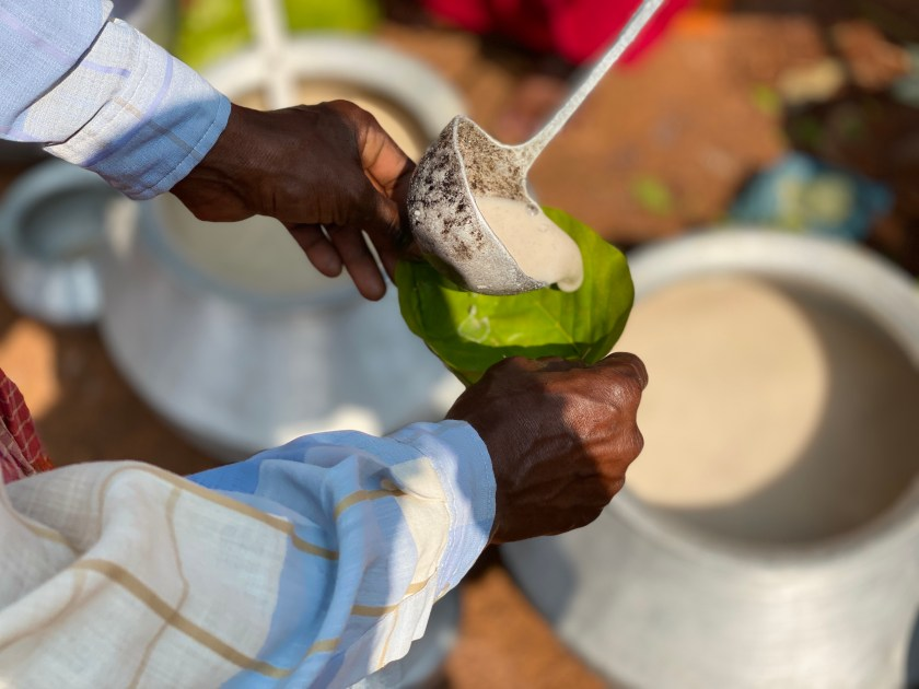 bastar tribal haat, landa rice brew bastar