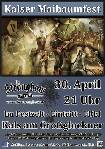 The Coverband Strongbow - Kalser Maibaumfest
