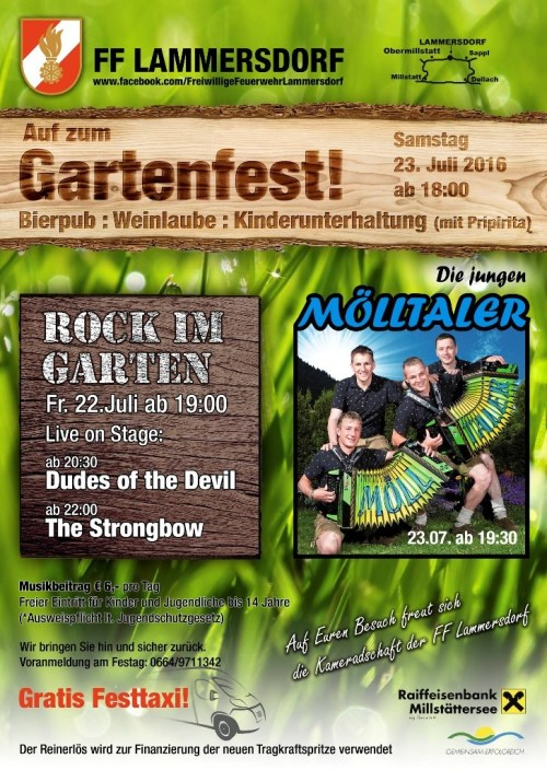 Rock im Garten 5.0 - The Coverband Strongbow
