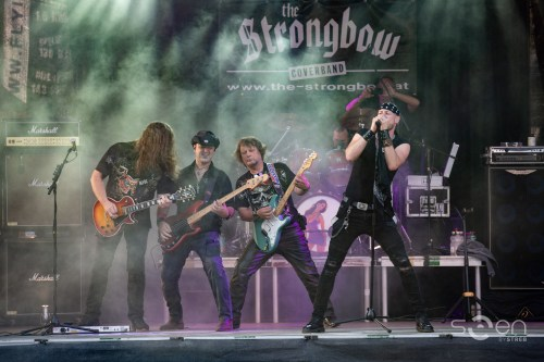 The Coverband Strongbow - Out of Bounds Festival - 2018  -  Fotocredits: www.facebook.com/seen.by.streb