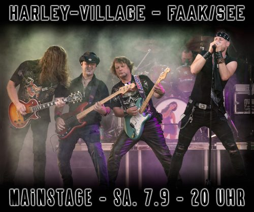 The Coverband Strongbow - Harley Davidson Faak / See 2019