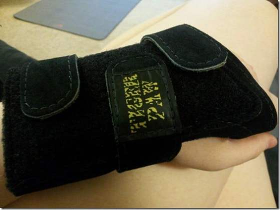 tiger paw wrist support