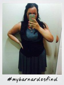 dress polaroid