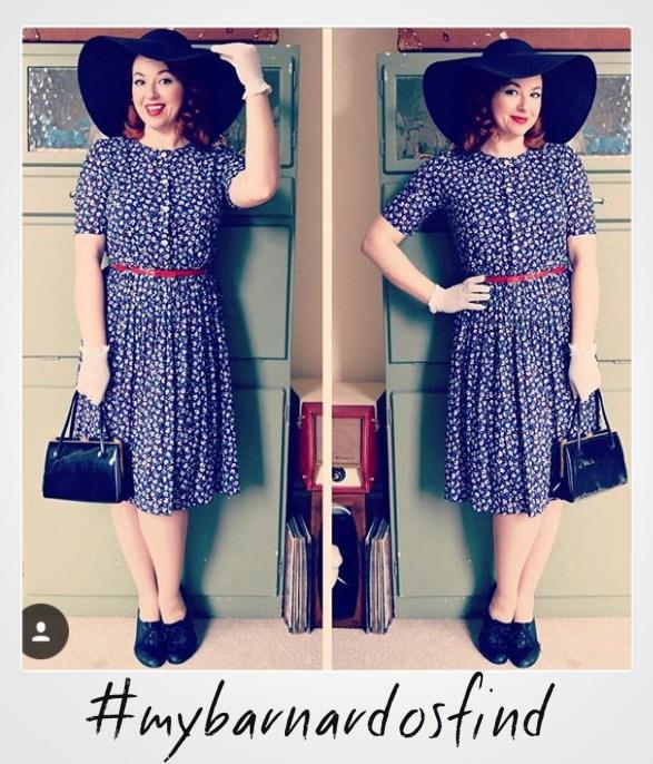 April 6 - vintage dress