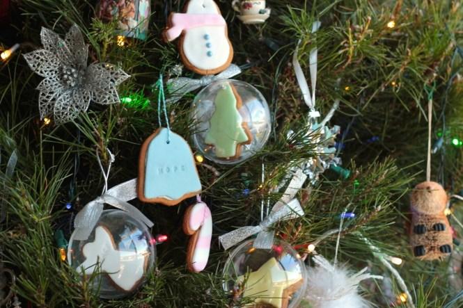 Gingerbread Looking Salt Dough Ornaments