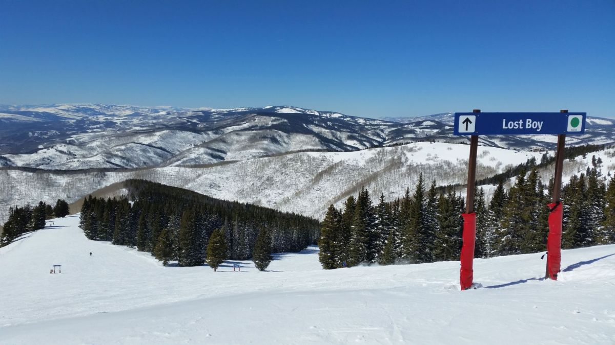 Skiing the Rockies @ Vail Resort