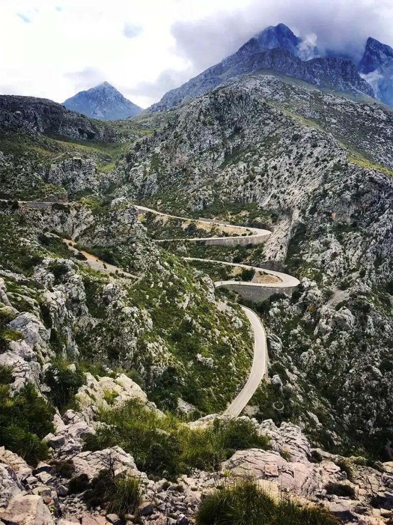Windy road to Sa Cordoba