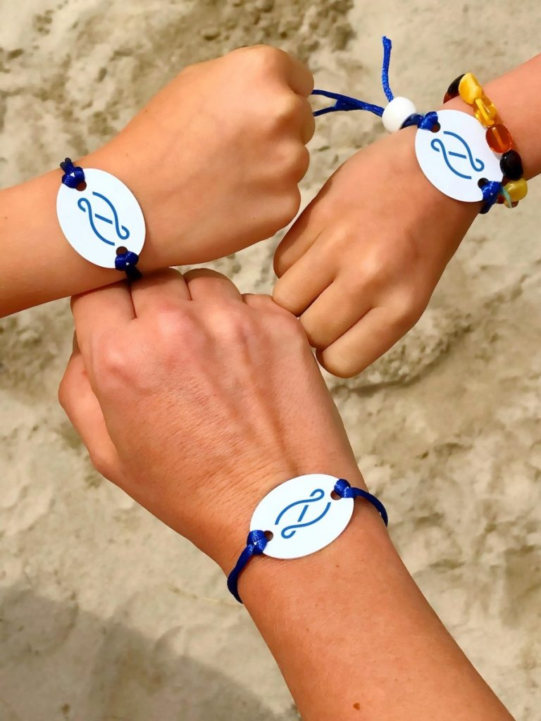 Zafiro bracelets which are keys to the room as well as let you pay for meals, and other orders