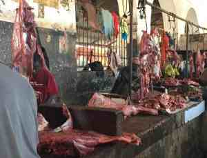 Stone town meat market