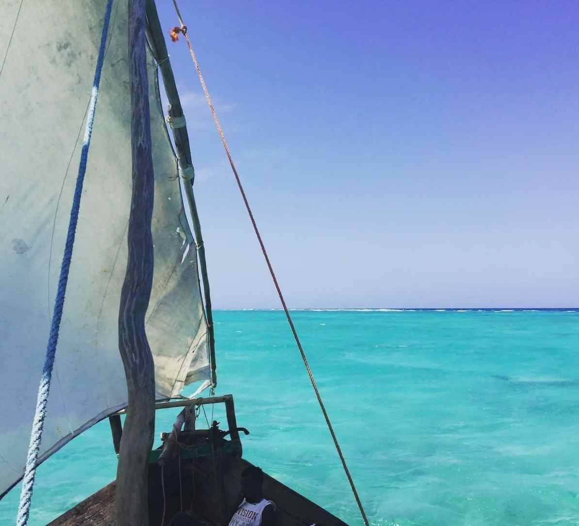 zanzibar adventure - dhow cruise