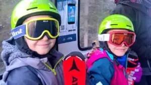 lift to tongola winter in San Martino, family winter holiday in San Martino