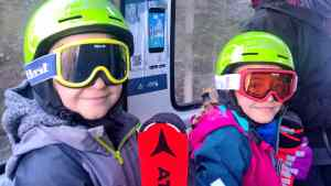 lift to tongola winter in San Martino, family winter holiday in San Martino