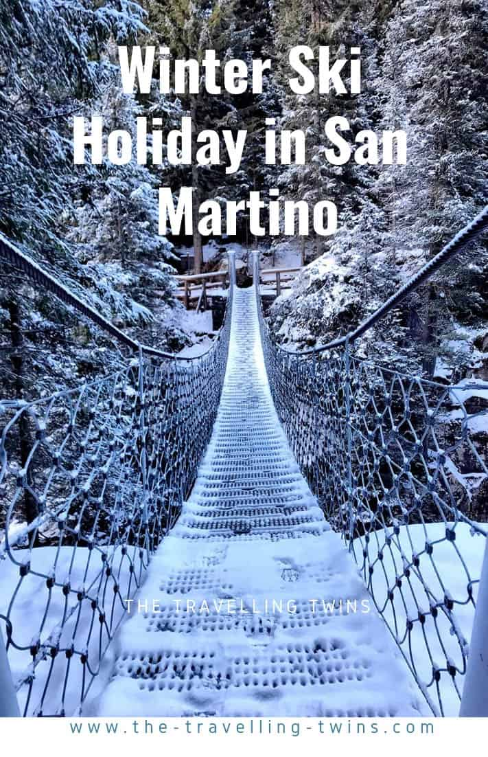 family winter holiday in San Martino - best place to ski in Alps