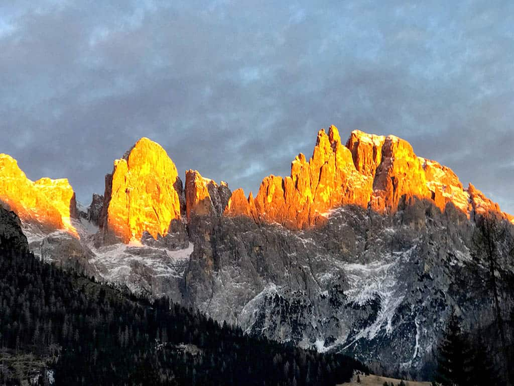Narty w Alpach San Martino