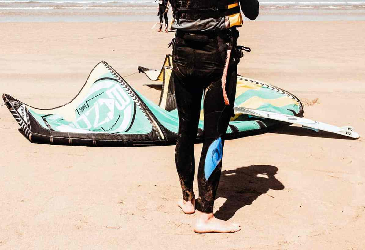 what to do in essaouira - spend day kitesurfing activities
