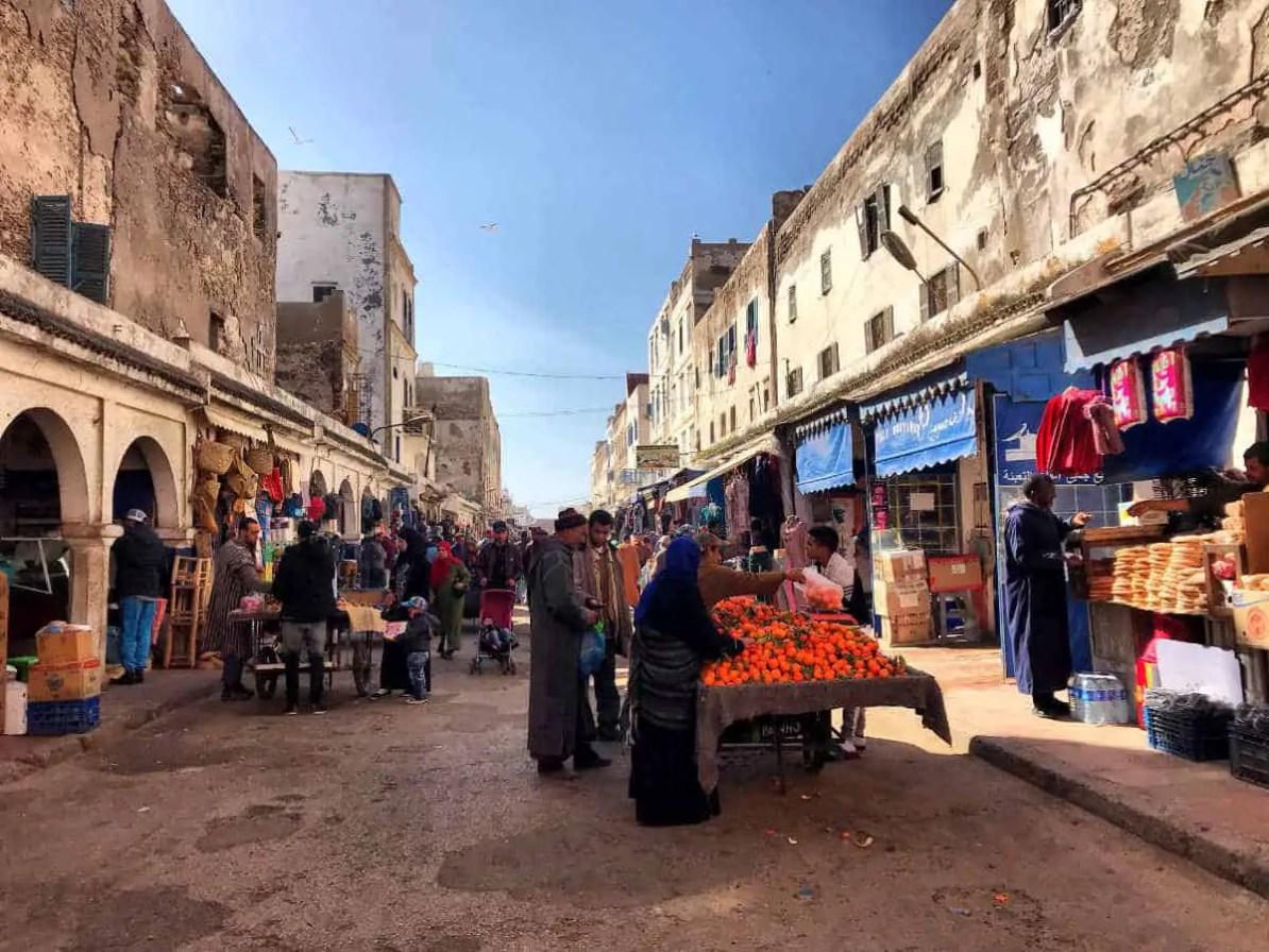 Essaouira streets, some are very narrow