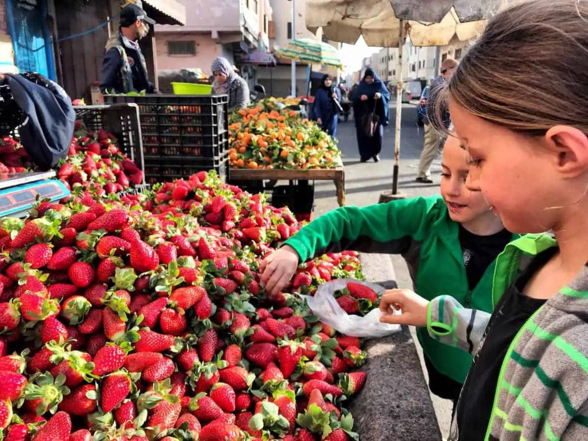 morocco fruits