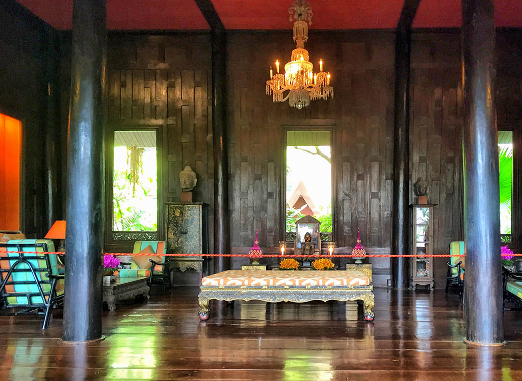 Jim Thompson House - interiors