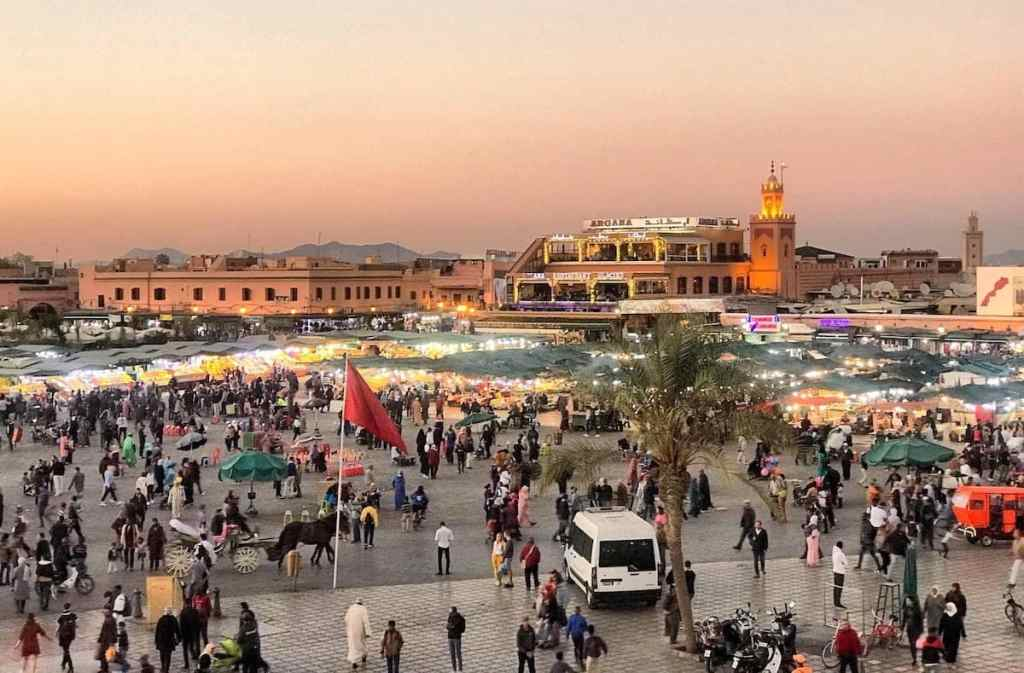 Marrakech - the most tourist city in Morocco