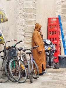Moroccan man in jaliba - morocco travel tips,