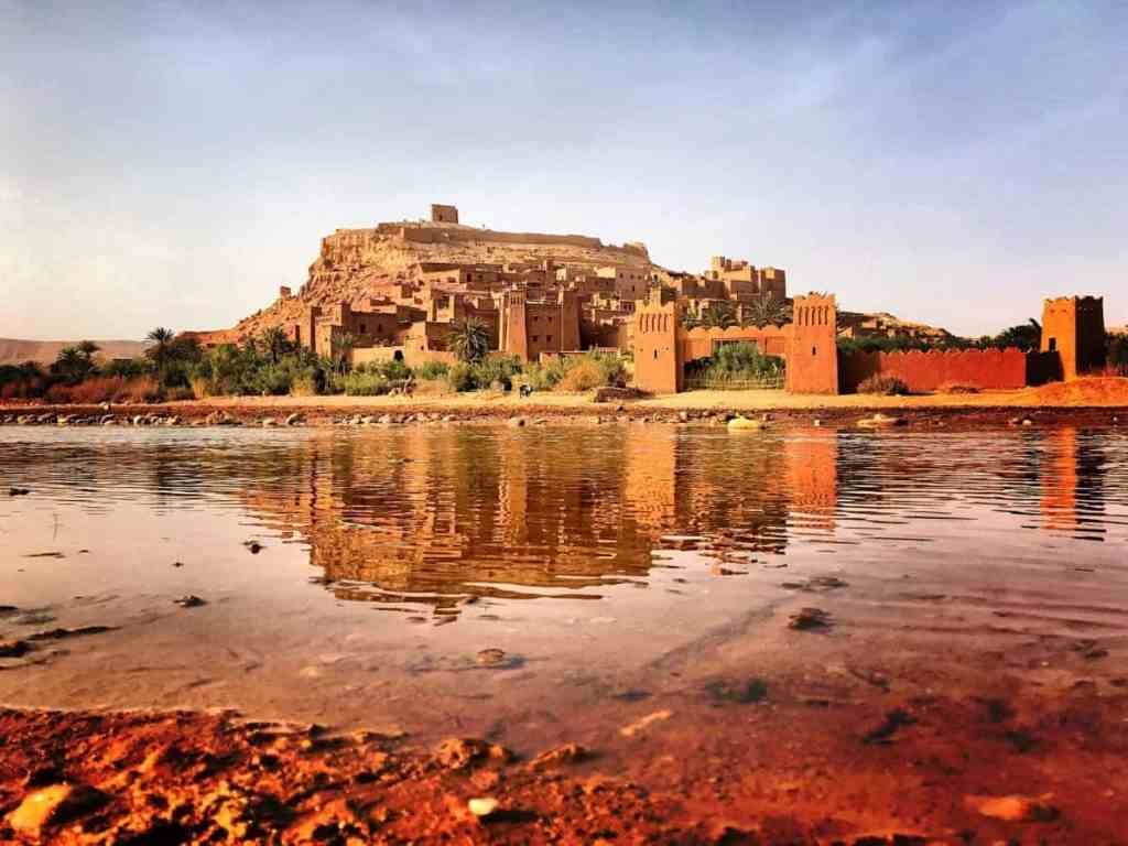 ait ben Haddou on of most important landmarks in morocco
