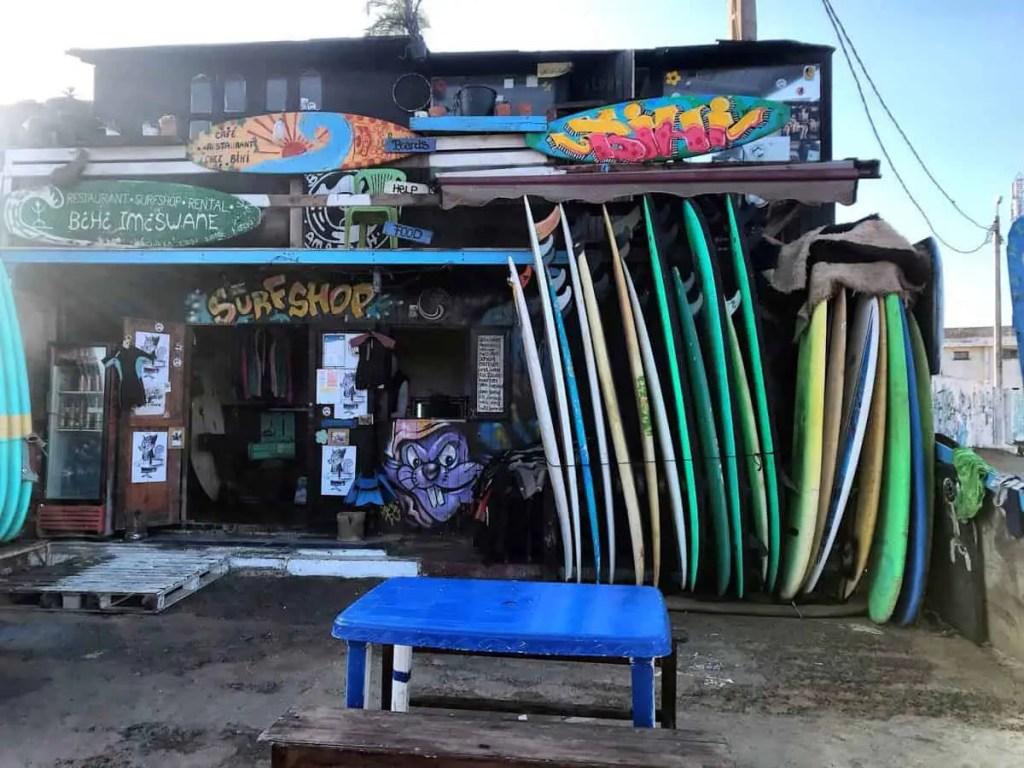 renting surfing board Imsouane