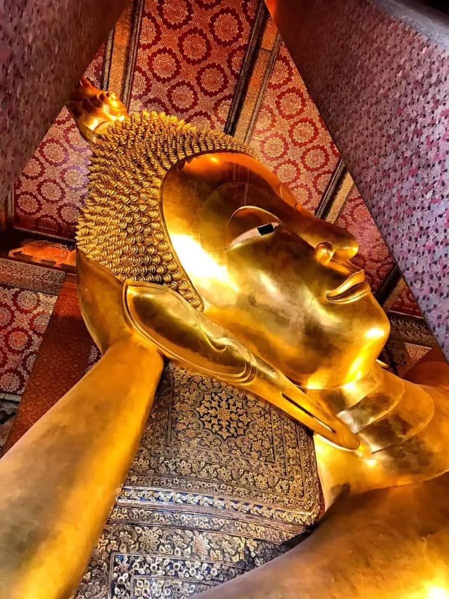 Wat Pho - enormous Buddha - must see temples in Bangkok