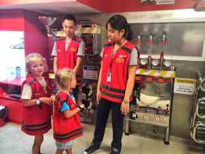 things to do with kids in Bangkok - go to Kidzania