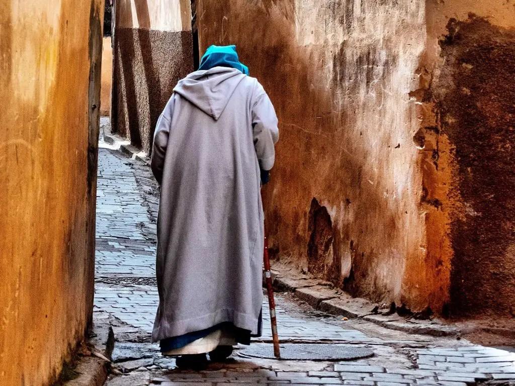 Moroccan djellaba - Morocco facts