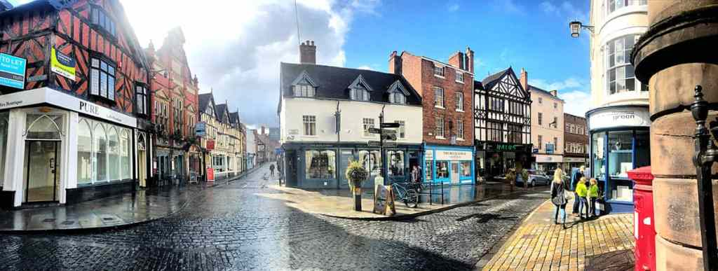 shopping in Shrewsbury, Shropshire things shropshire activities shrewsbury shopping visit shrewsbury