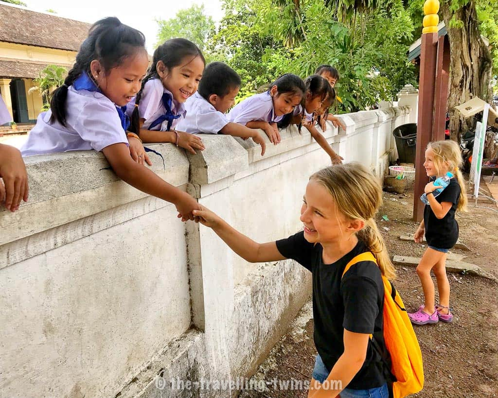 things to do in laung Prabang with kids, Luang Prabang with kids