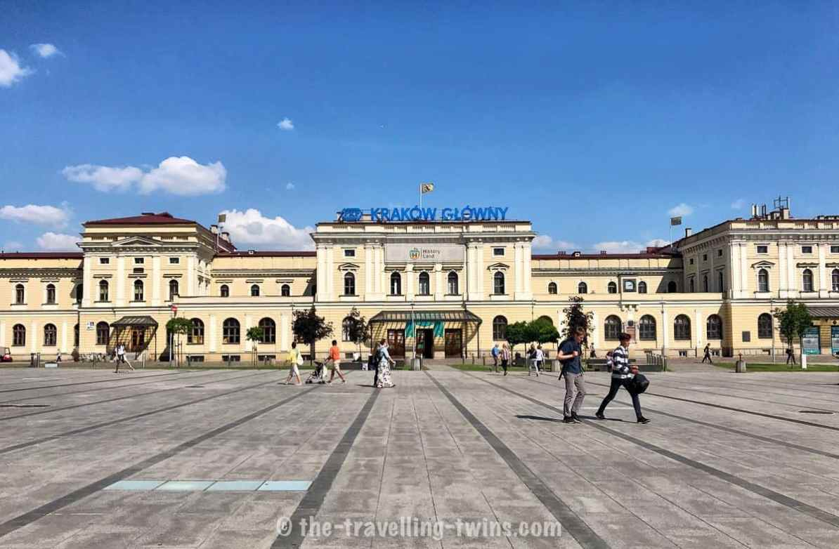 things to do with kids in krakow - visit Lego History Land, krakow with children, Krakow głowny old trainstation