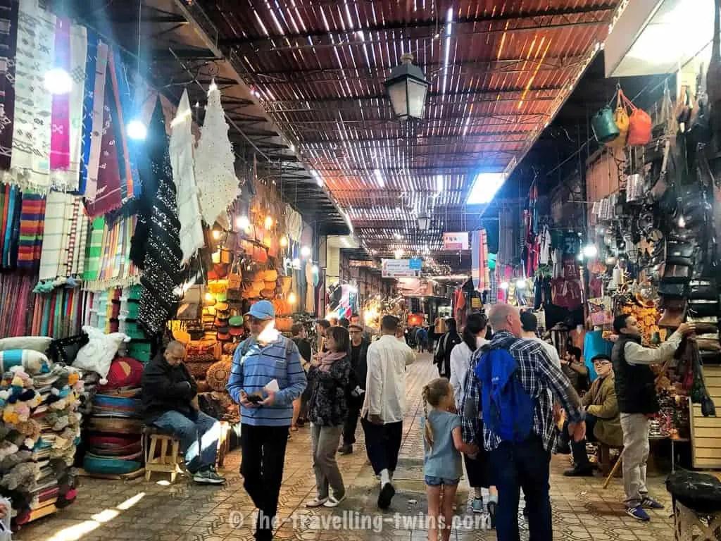 marrakesh souks in Marrakech