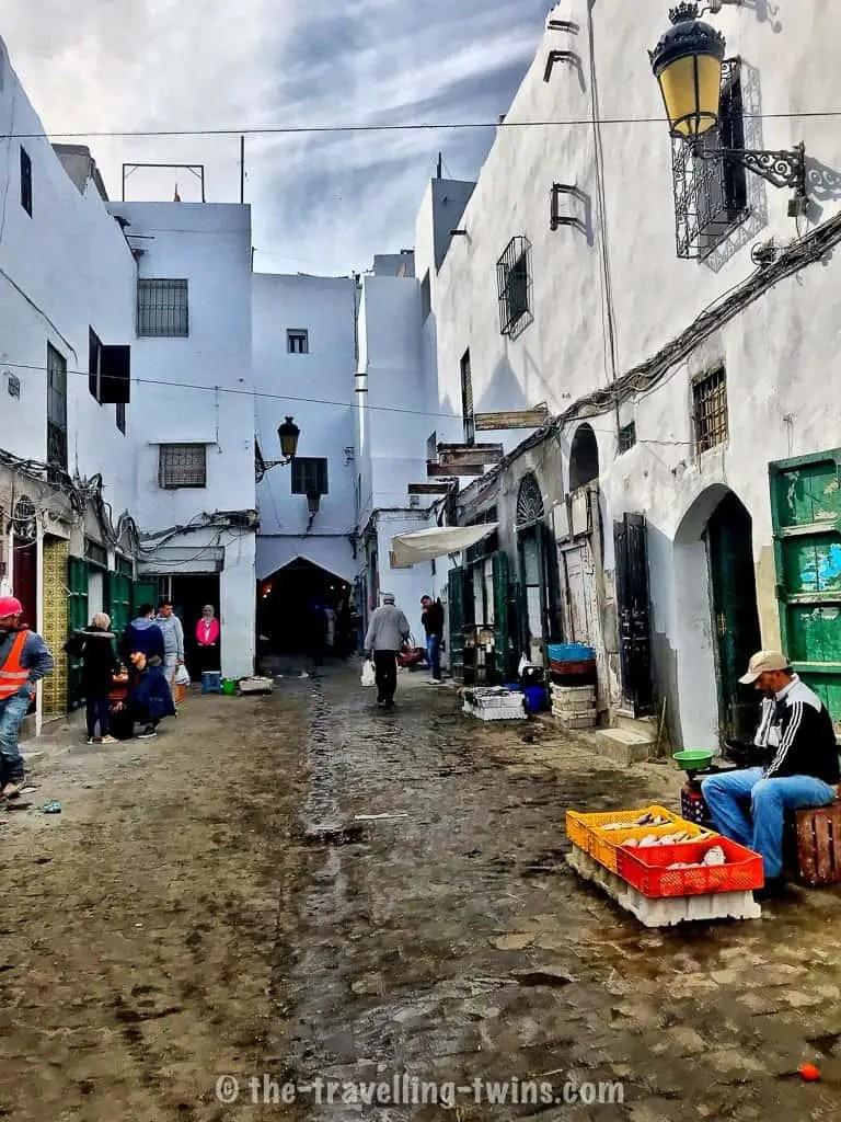 Tetouan city - narrow streets