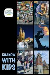 what to do in Krakow with kids? Visit the castle, eat delicious food on one of the restaurant in the Main Square and of course Visit the dragon - Smok Wawelski