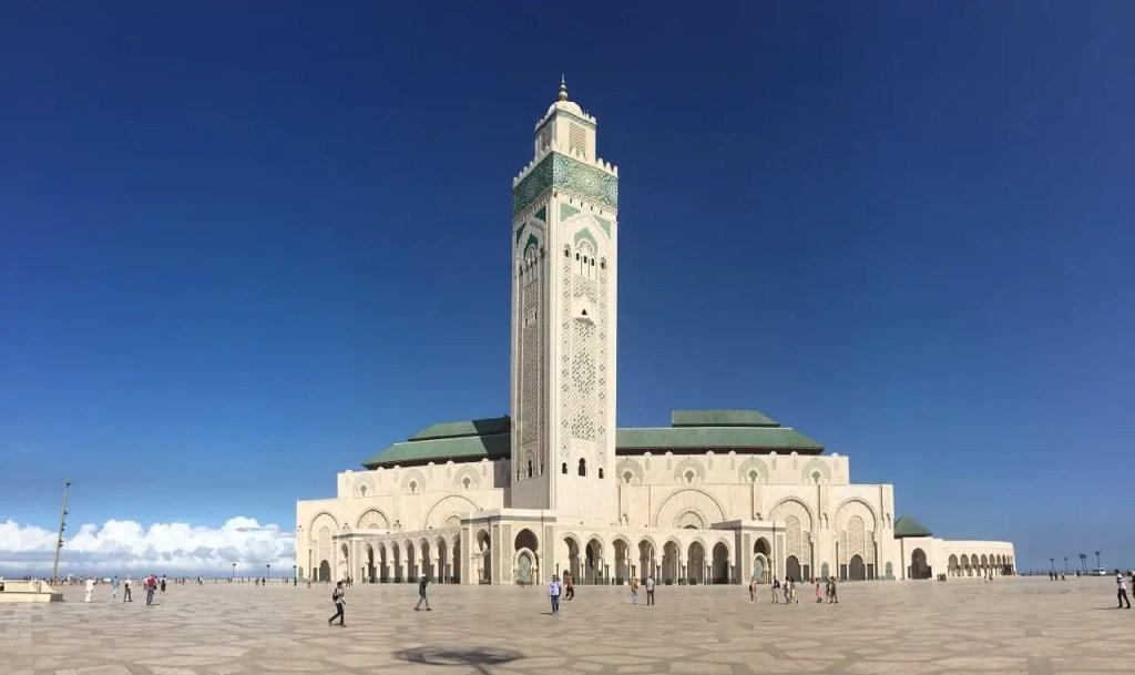 Mosque Hassan II Cassablanca