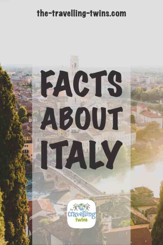 facts about italy - pin
