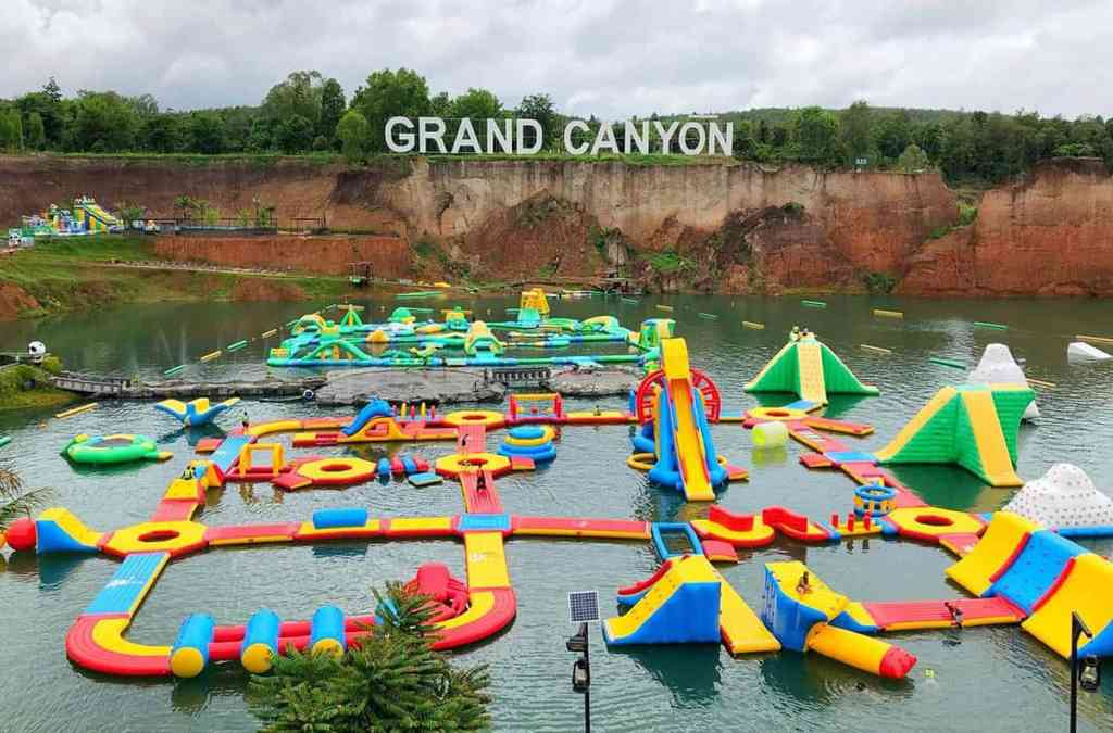 Water park in Chiang Mai Canyon