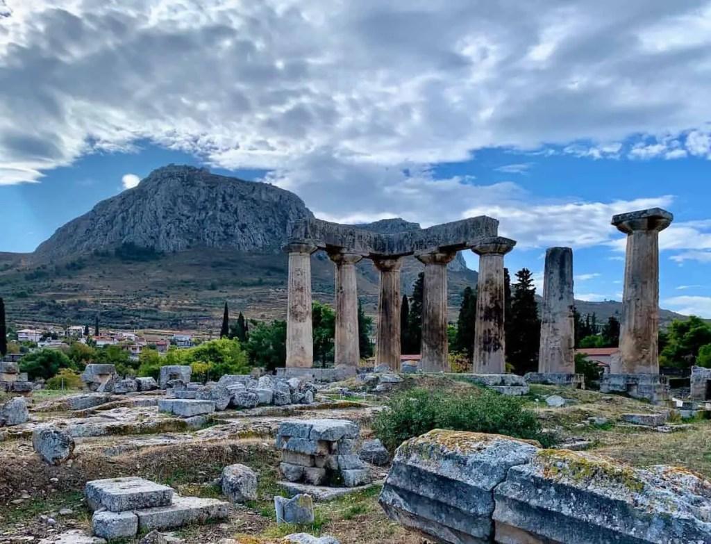 Spent half a day going around ancient Corinth