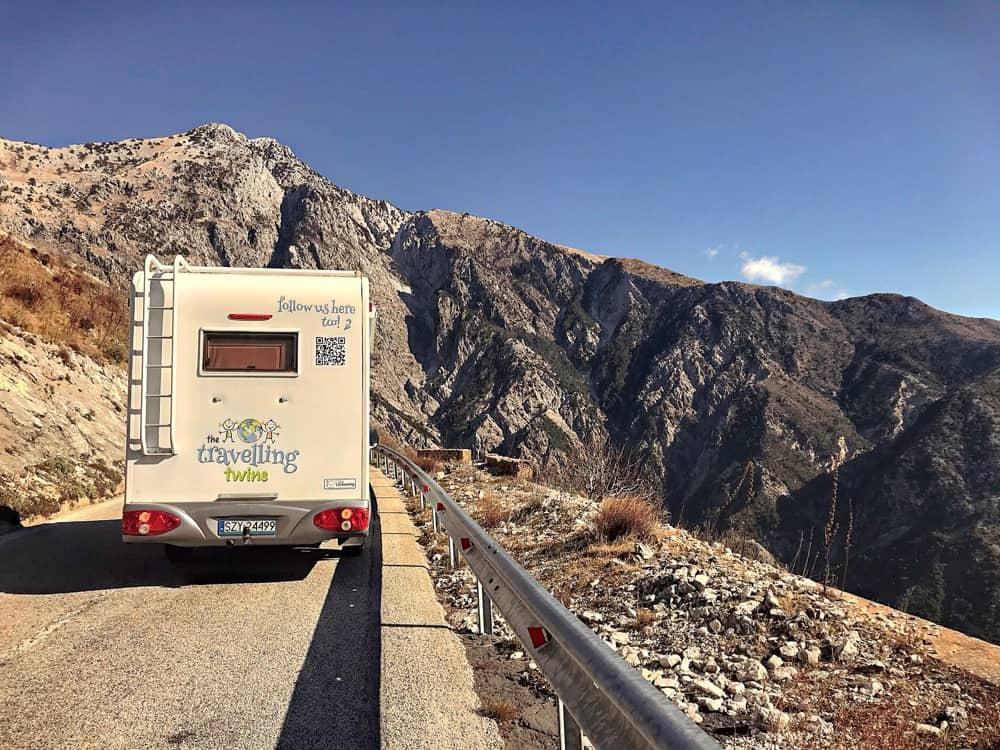 Albania camping