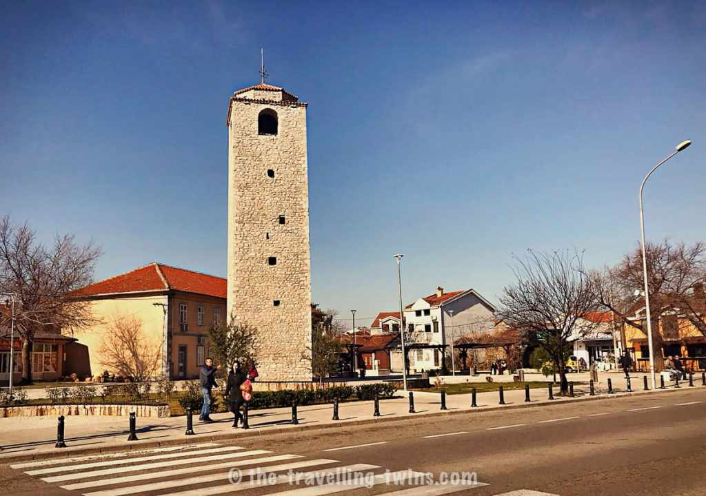 see city center - Podgorica - clock tower, things to do in Podgorica montenegro
