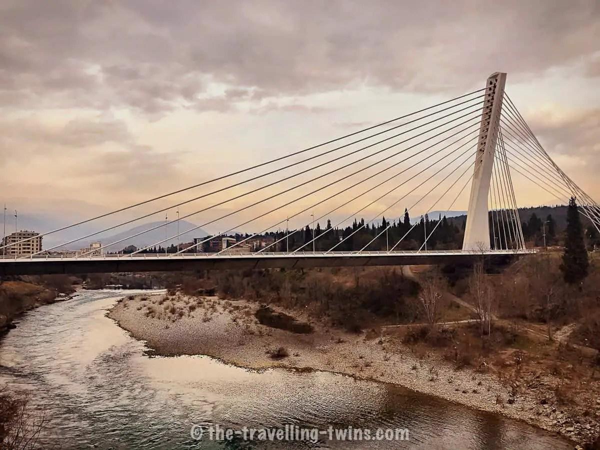 Millenium bridge - Podgorica