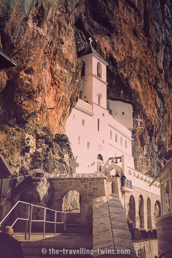 ostrog monastery - perfect for a day trip from Podgprica
