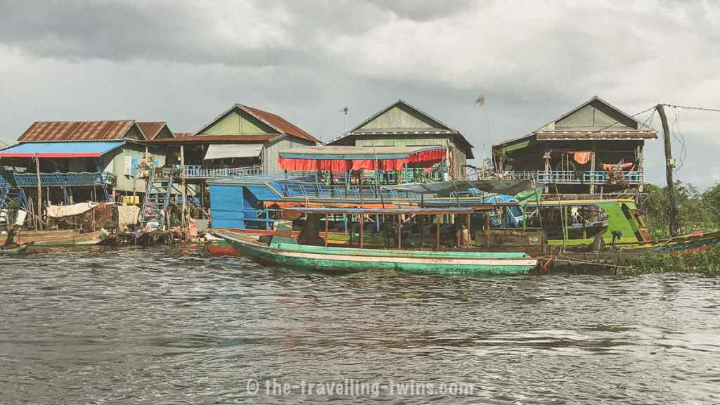 the stilt villages and floating markets of Tonlé Sap, tonle sap