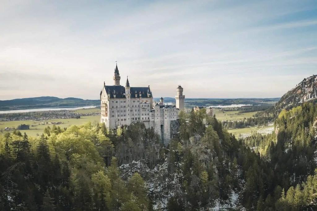 Neuschwanstein Castle -one of the European landmarks