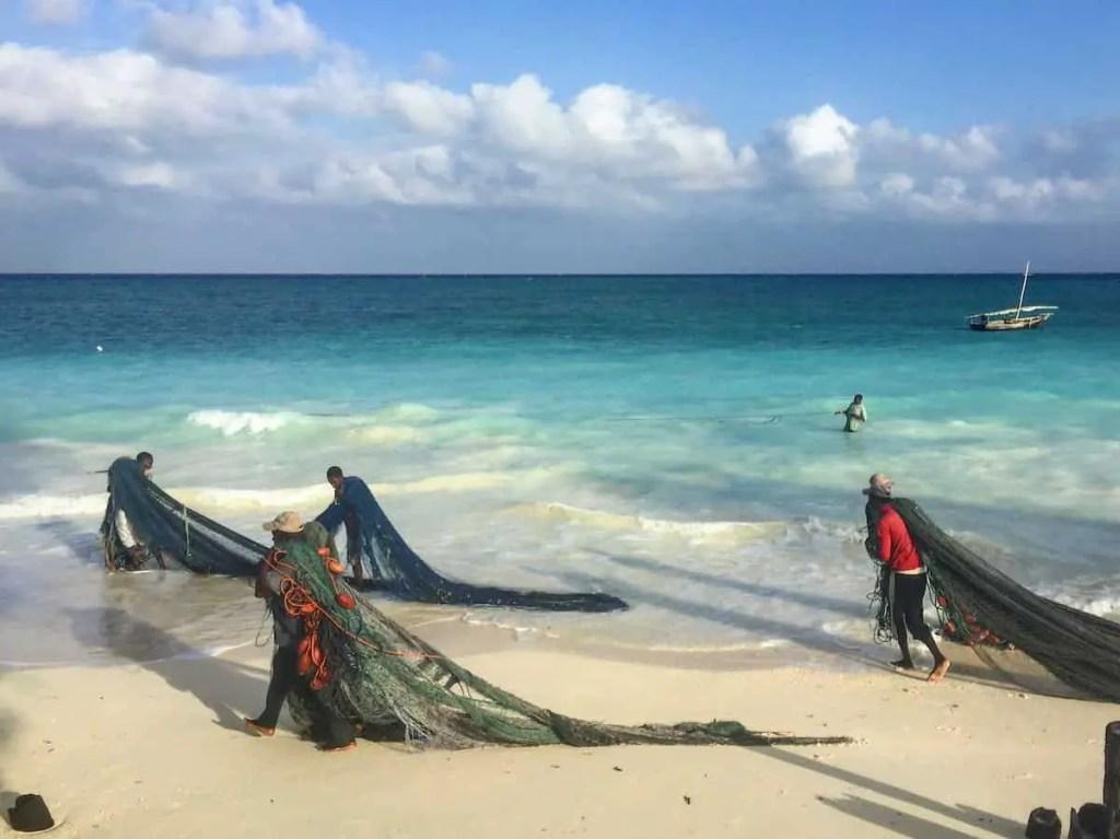 fisherman on zanzibar island