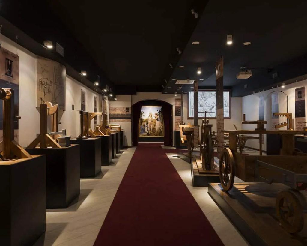 best Da Vinci museum in Rome