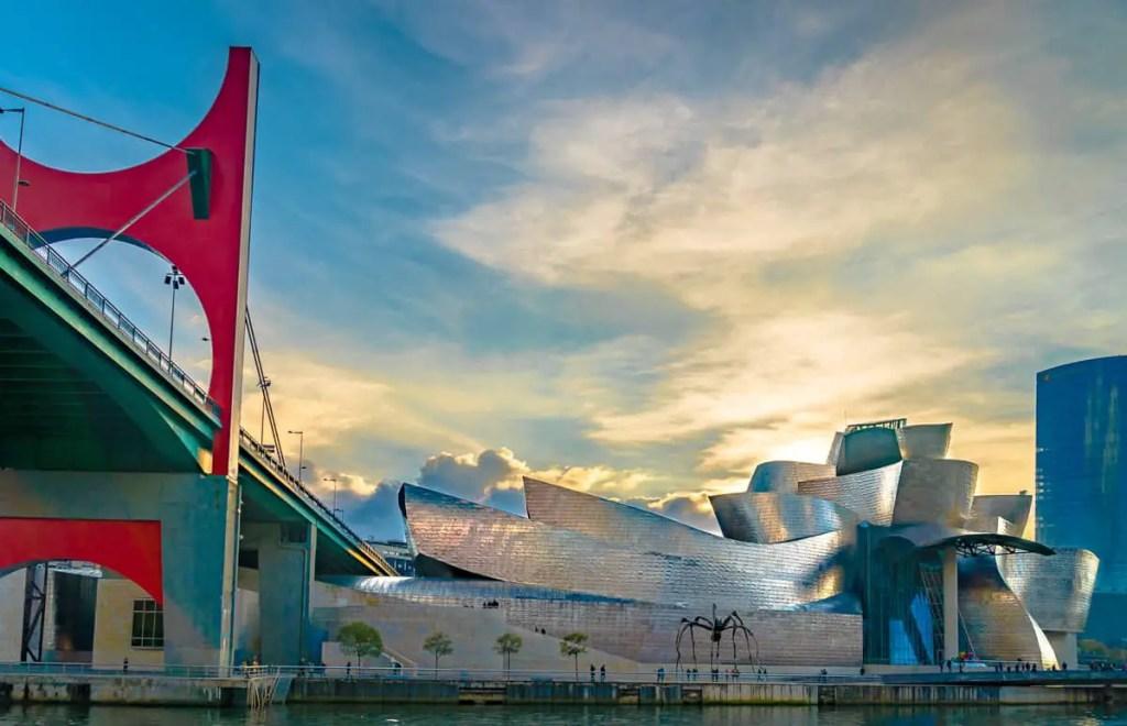 Guggenheim museum Bilbao, Spain Spanish Landmarks  bilbao spain museum bilbao guggenheim