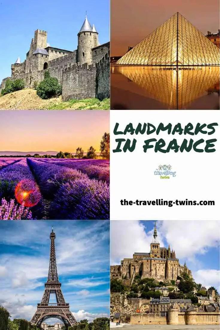 france landmarks famous monuments