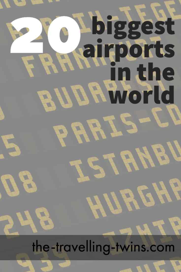20 busiest airports in the world